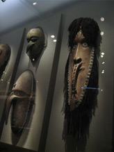 Masks from Oceania